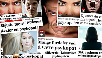 Derfor lager VG og Dagbladet så mange saker om psykopater