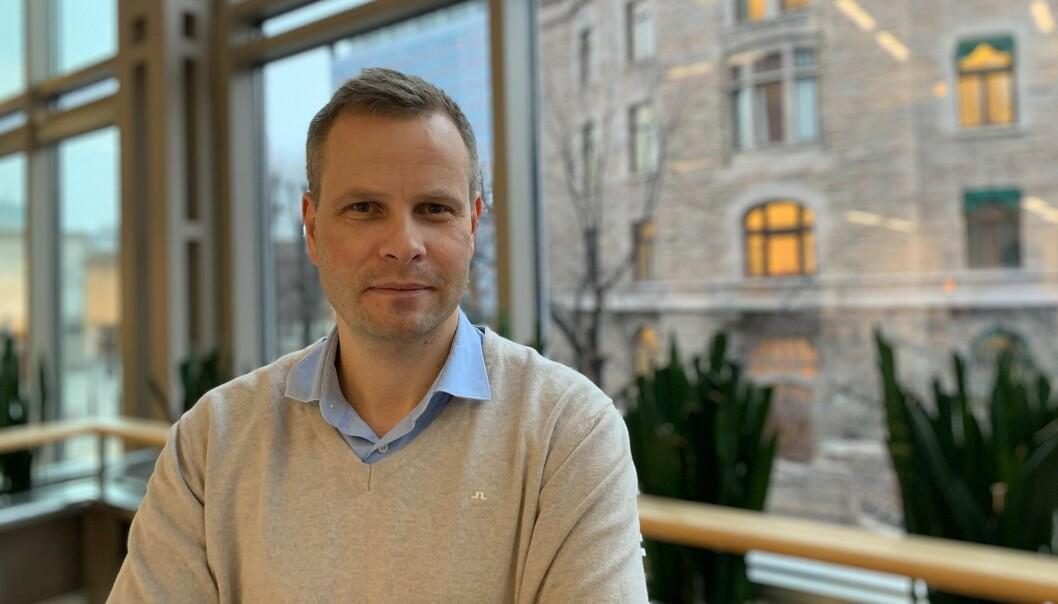 Trond Olav Skrunes går til BT. Foto: Schibsted
