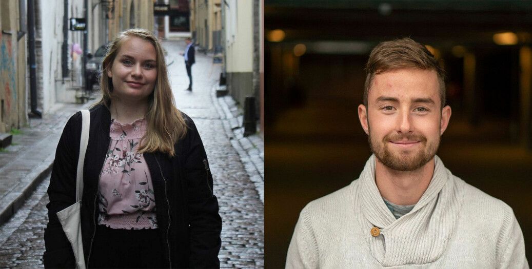 Camilla Hjelmeseth og Tarjei Engeset Ofstad har begge fått fast jobb i Sunnmørsposten.