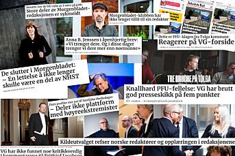 Fem store snakkiser fra medieåret 2019