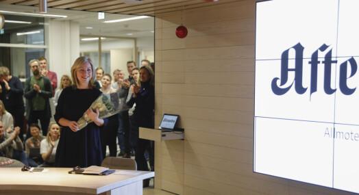 Trine Eilertsen er ansatt som sjefredaktør i Aftenposten
