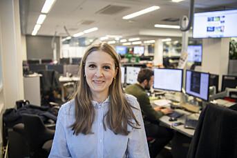 Mina Liavik Karlsen er ansatt som redaksjonssjef i E24