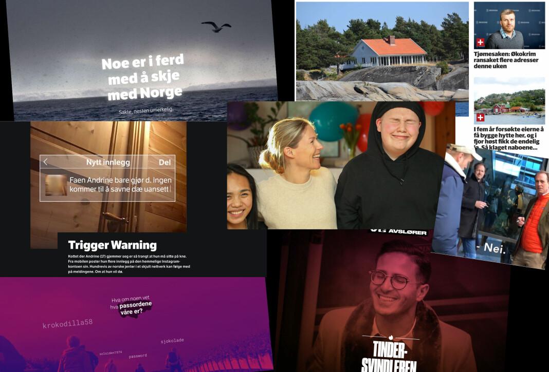 Les om metodene bak blant annet NRKs «Trigger Warning», VGs «Tinder-svindleren» og Adresseavisens «Lekkelandet».