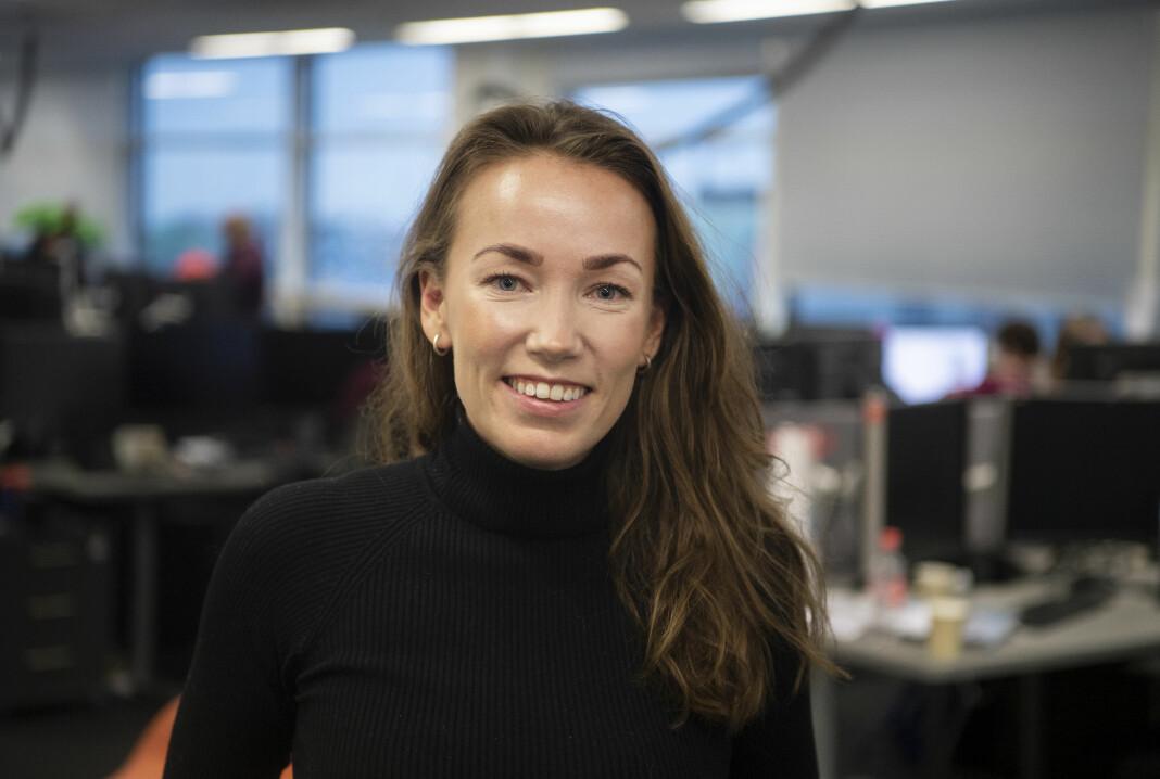 Kristine Masdal Aadne blir prosjektleder for lyd og video i E24.
