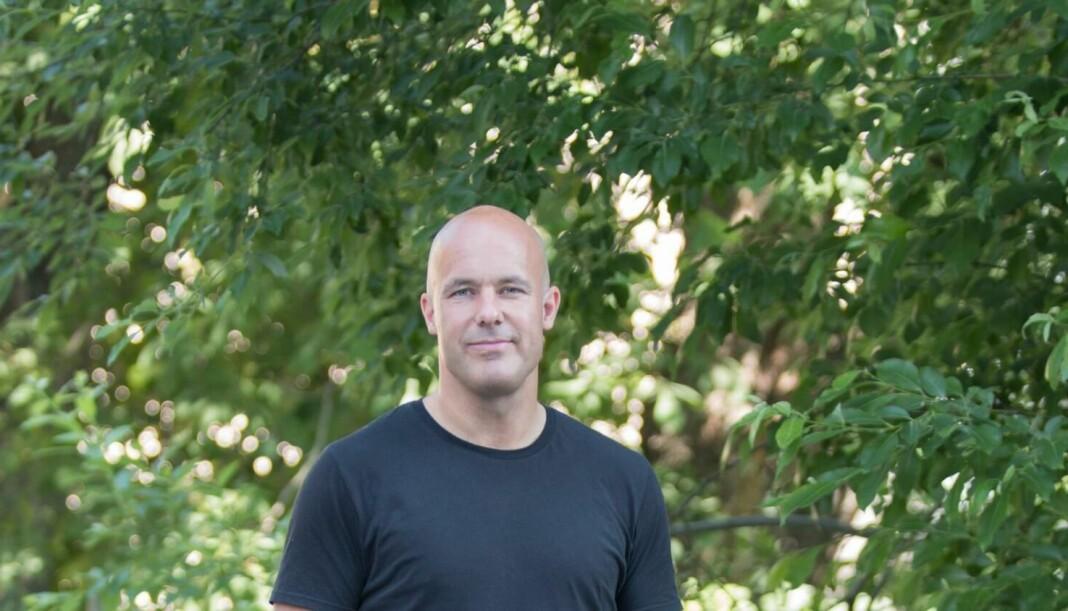 I dag ble det klart at Trond Rasmussen er ansatt som nyhetsredaktør i Raumnes. Foto: Privat