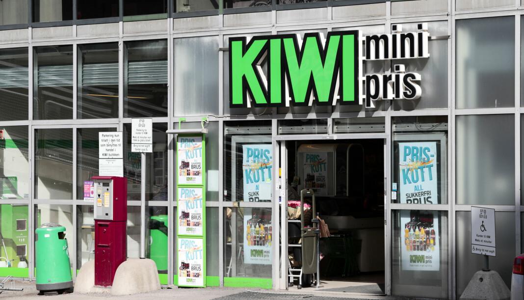 Kiwi sendte bilder til VG for å bevise at de hadde Munkholm i sine butikker.