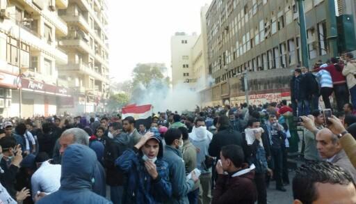 Tahrir-plassen 22. november 2011.