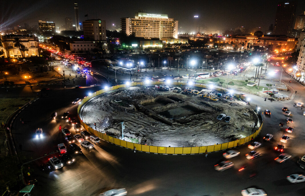 Tilbake på Tahrir.