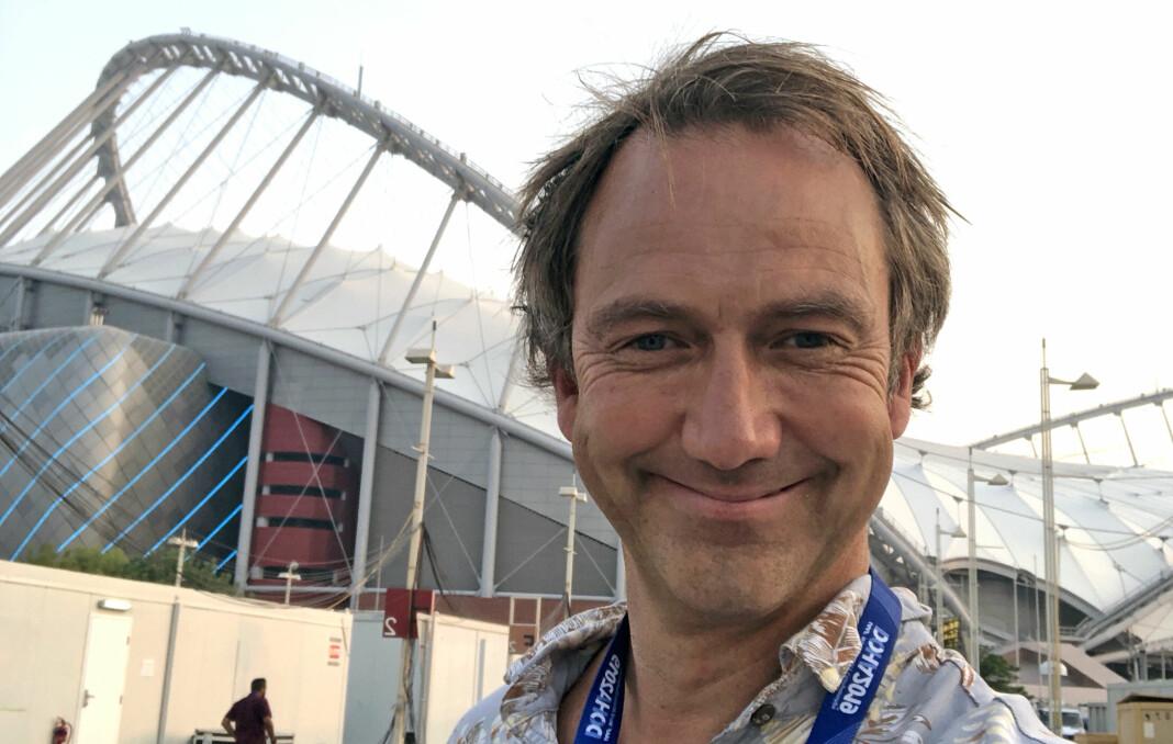 Jan Petter Saltvedt er NRKs nye sportskommentator.