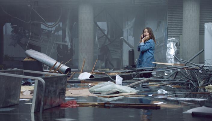 Karakteren Anine er vitne til konsekvensene av bomben i Regjeringskvartalet.