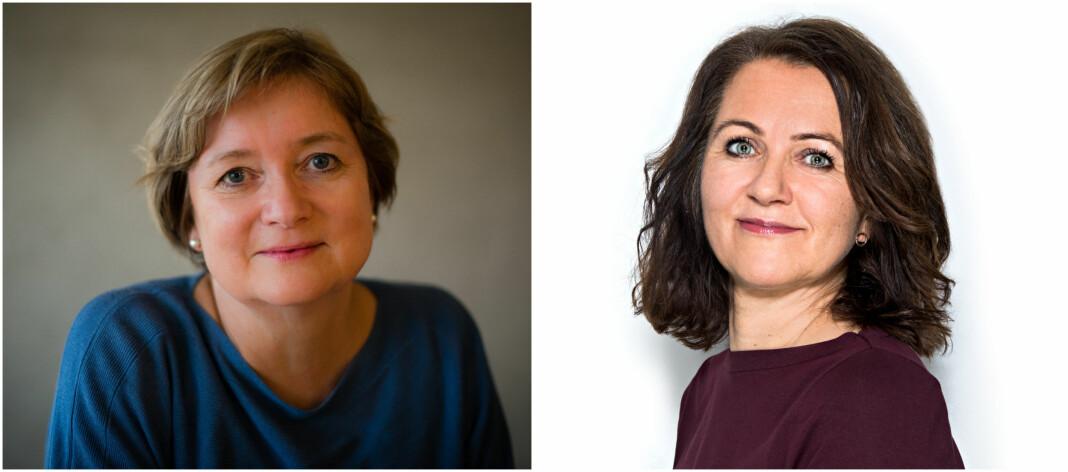 Hanna Relling Berg og Reidun K. Nybø i Norsk Redaktørforening