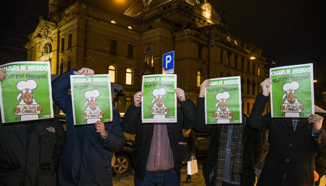 «Je suis Charlie» var på alles lepper etter terrorangrepet mot det franske satiremagasinet for fem år siden. Det første bladet som utkom etter angrepet, hadde en tegning av profeten Mohammed på forsiden.