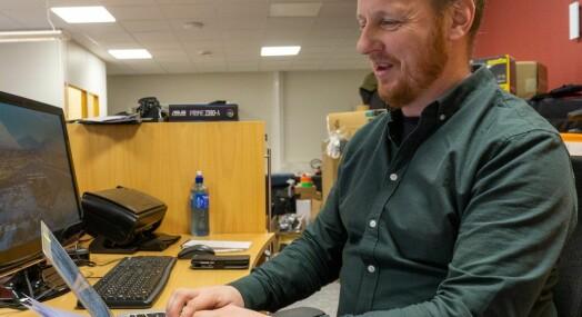 Erik Brenli er ansatt i Finnmark Dagblad