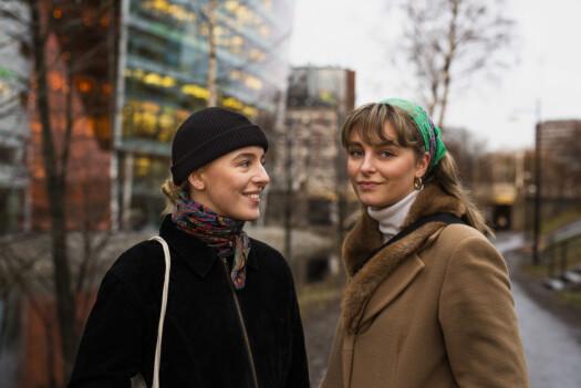 Sofie Fernande Kvitberg og Jenny Solberg.