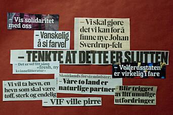 Ikke alle forstår norske journalisters favorittegn