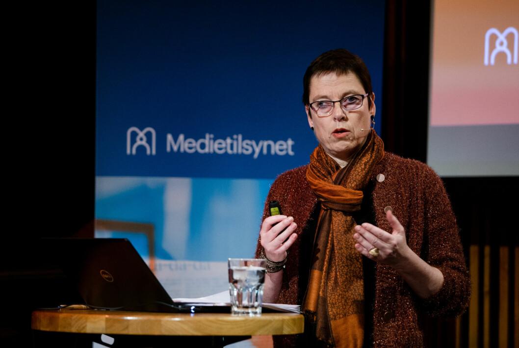 Mari Velsand, direktør i Medietilsynet, offentliggjorde i dag hvilke aviser som har søkt om pressestøtte for 2021.