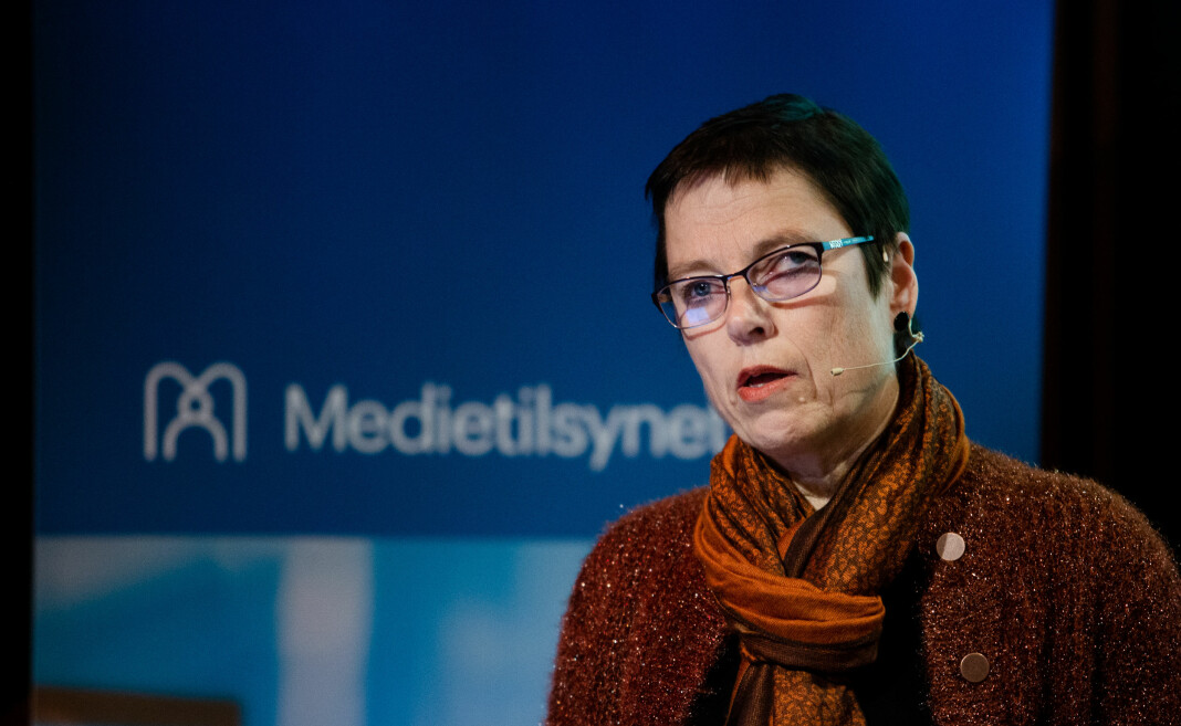Mari Velsand, direktør i Medietilsynet, starter utbetalingen av ulike pressestøtteordninger denne uka.