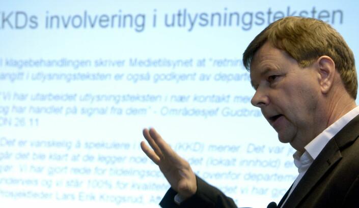 Svein Larsen ønsker strengere regulering av NRK for å få et større mediemangfold.