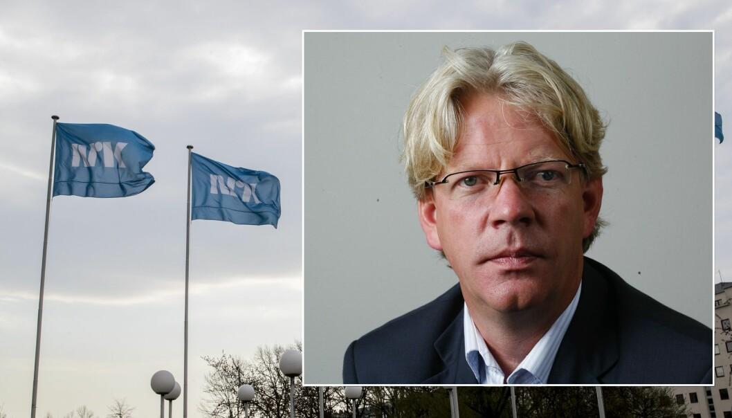 Leder Tron Strand i Pressens Offentlighetsutvalg er lite imponert over ønsket fra NRK. Foto: Vidar Ruud / NTB scanpix. Montasje.