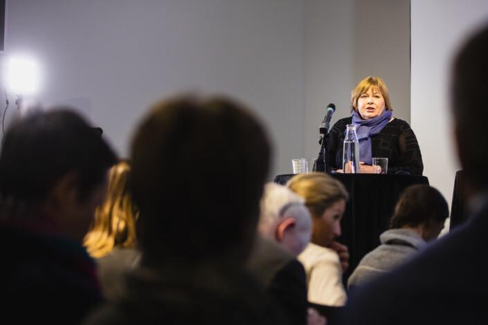 Generalsekretær Elin Floberghagen i Norsk Presseforbund frykter at en dom kan ha nedkjølende effekt på kritisk journalistkk.