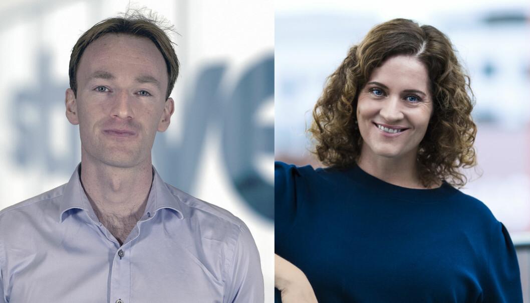 Endre Lübeck og Silje Førsund blir fast ansatt i Dagbladet Pluss.
