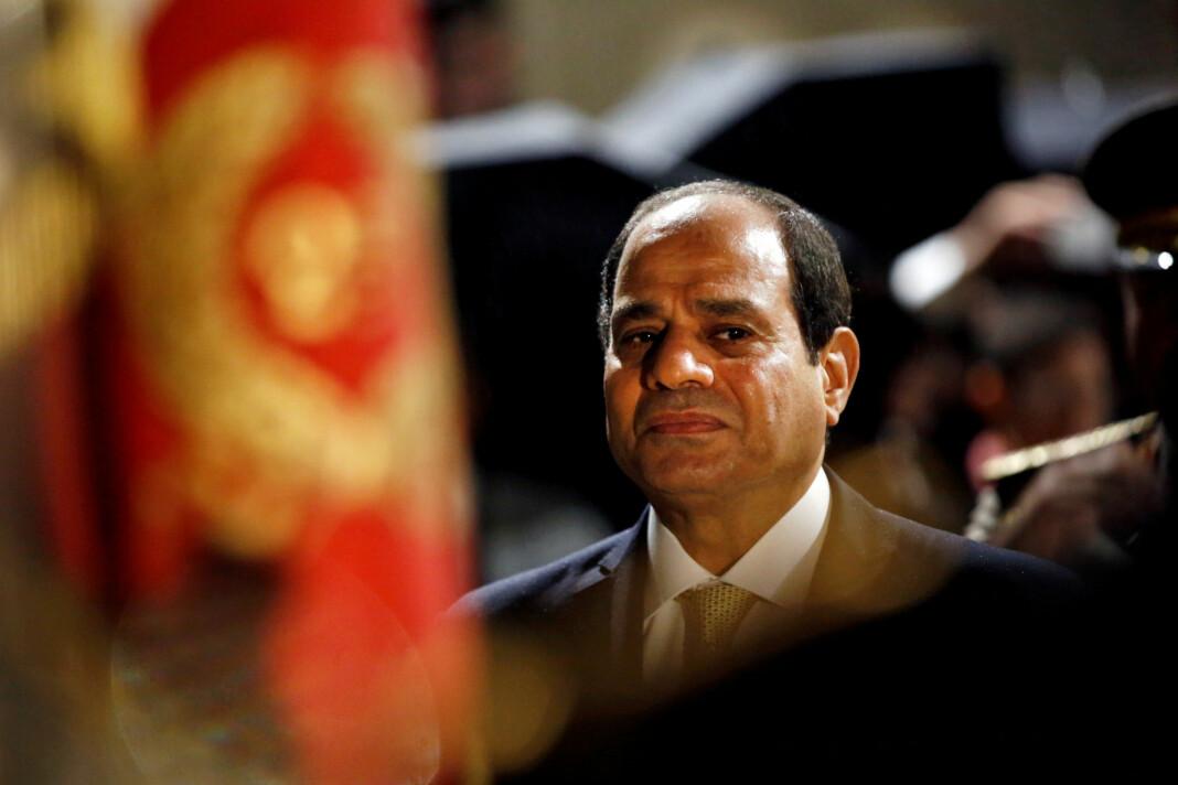 Forholdet mellom Egypt og Tyrkia er anspent. På bildet Egypts president Abdel Fattah al-Sisi.