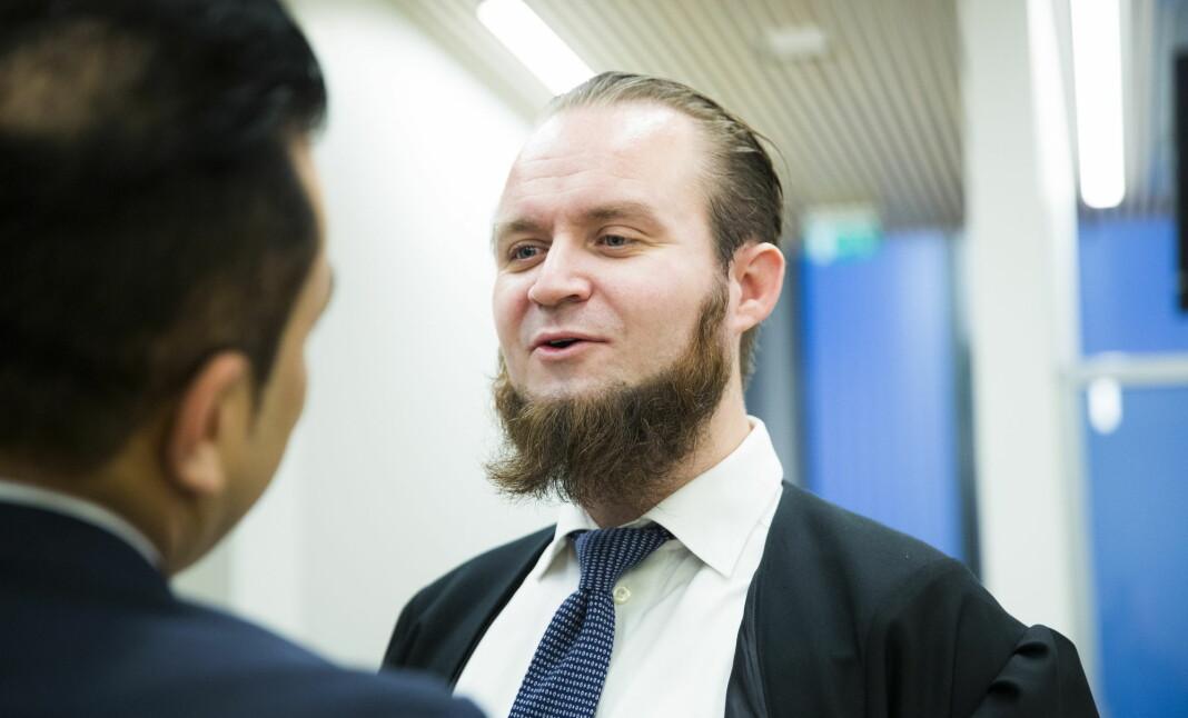 Advokat til den sikteden IS-kvinnen Nils Christian Nordhus .