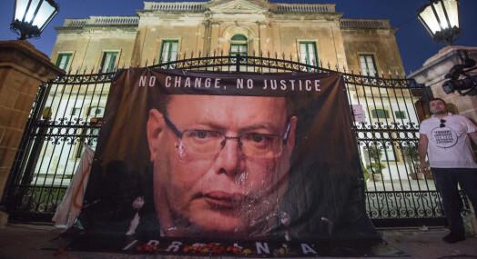 Maltas politisjef går av under etterforskningen av journalistdrap