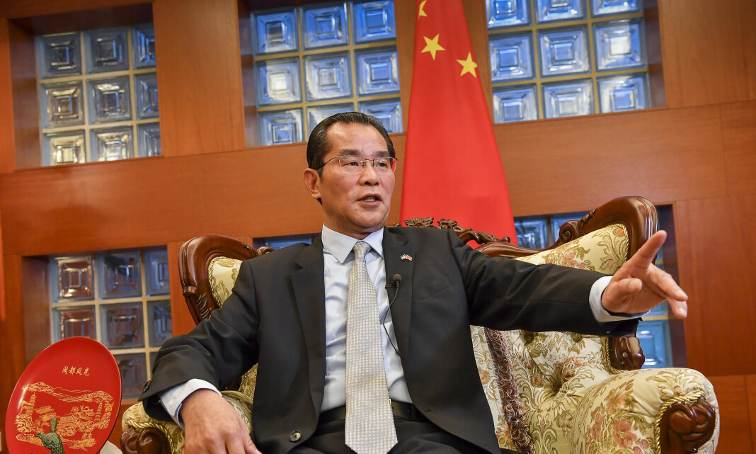 Kinas Sverige-ambassadør kalles inn på teppet etter mediekritikk