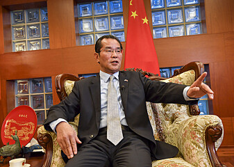 Kinas ambassadør kalles inn på teppet etter mediekritikk