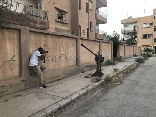 Shaddadi er stedet der to av IS-kvinnene var gift med Bastian Vasquez, som også døde i den byen