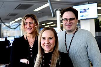 Amalie, Evelyn og Vetle har fått fast jobb i E24