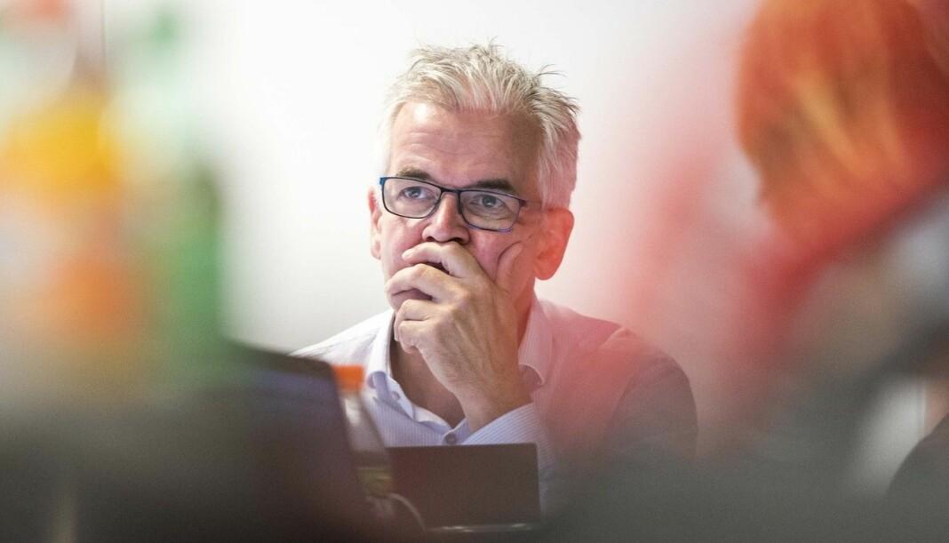 VG-journalist Alf Bjarne Johnsen ledet sitt siste PFU-møte 23. juni. Hittil i år har utvalget felt norske medier 34 ganger.