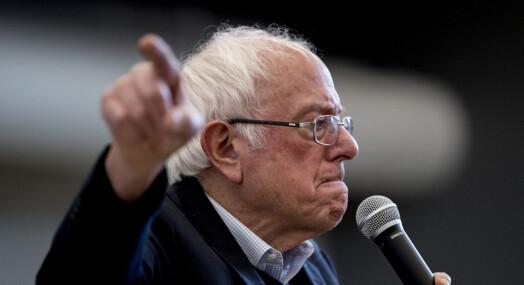 Ikke bare Trump: Også Bernie Sanders har problemer med pressen