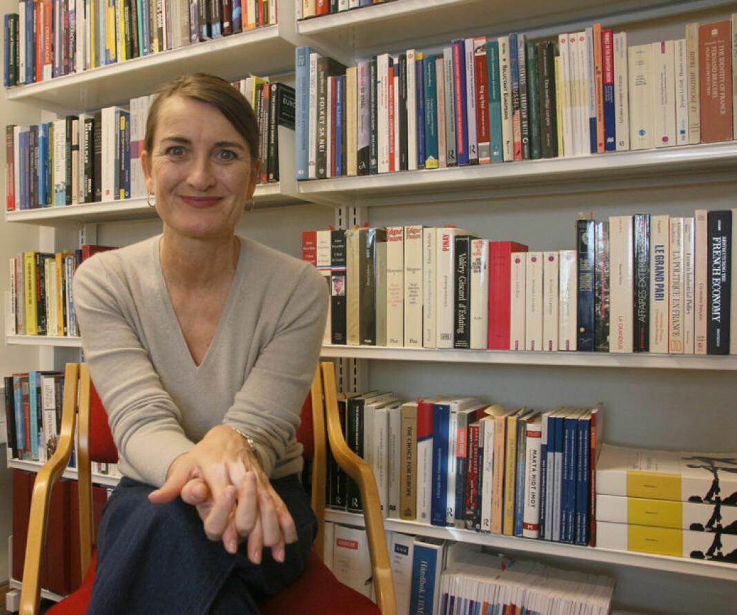 Professor Lise Rye ved NTNU er klar over at færre kvinnelige akademikere uttaler seg i mediene.
