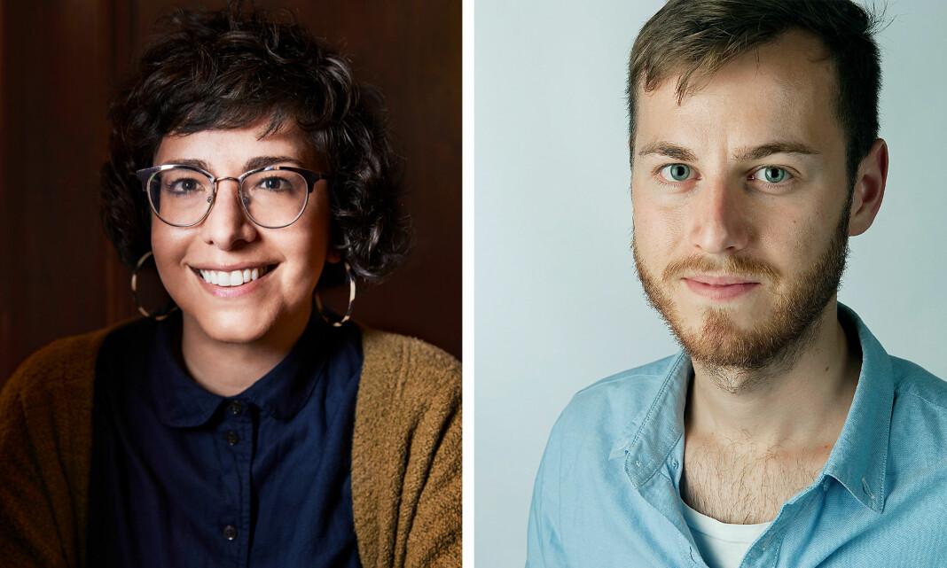 Jennifer Brandel og Anders Hjemler Paulsen har begge tro på å gi leserne mer innflytelse.