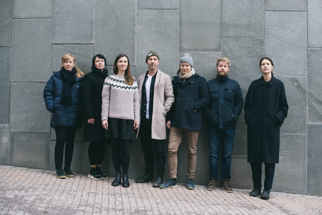 Gruppebilde av foto- og videojuryen i Årets bilde-konkurransen for 2019.