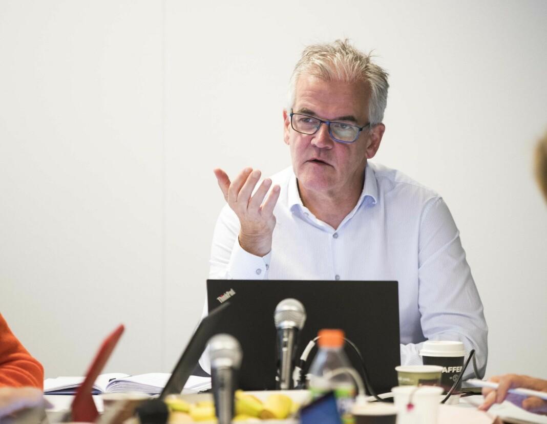 Alf Bjarne Johnsen leder Pressens Faglige Utvalg.