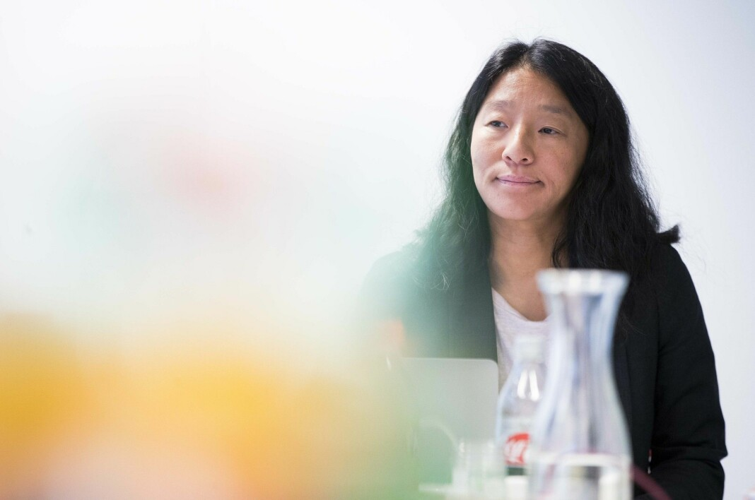 Oslo 20190925.  Nestleder i Pressens faglige utvalg (Pfu) Anne Weider Aasen behandler flere saker i Oslo onsdag. Foto: Terje Pedersen / NTB scanpix