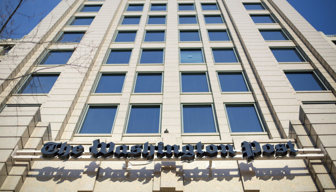 Washington Post avblåser suspensjonen av en journalist.