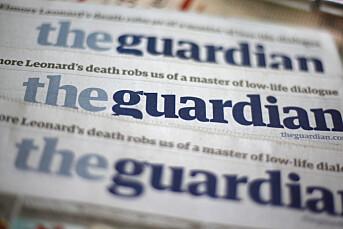 The Guardian kutter 180 årsverk