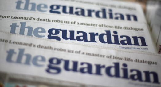 The Guardian forbyr nå alle annonser fra selskaper som driver med olje og gass