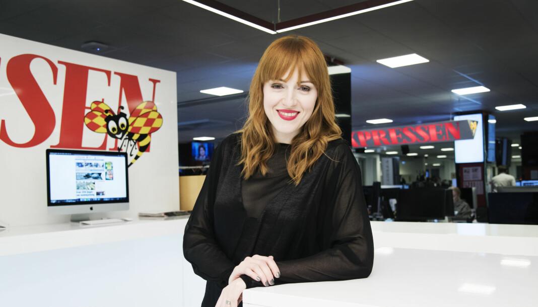 Cissi Wallin blir ny spaltist i Expressen.