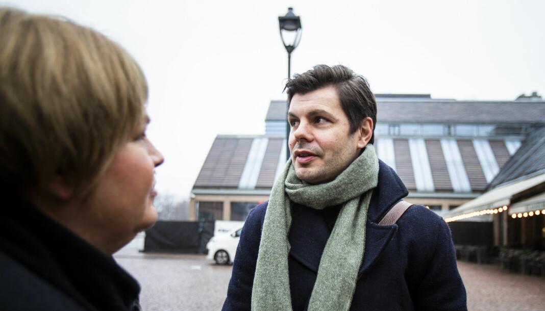 Kim Edgar Karlsen skal sammen med Fanny Duckert studere opplevelsene til tidligere PFU-klagere. Norsk Presseforbund, her ved generalsekretær Elin Floberghagen, bistår.