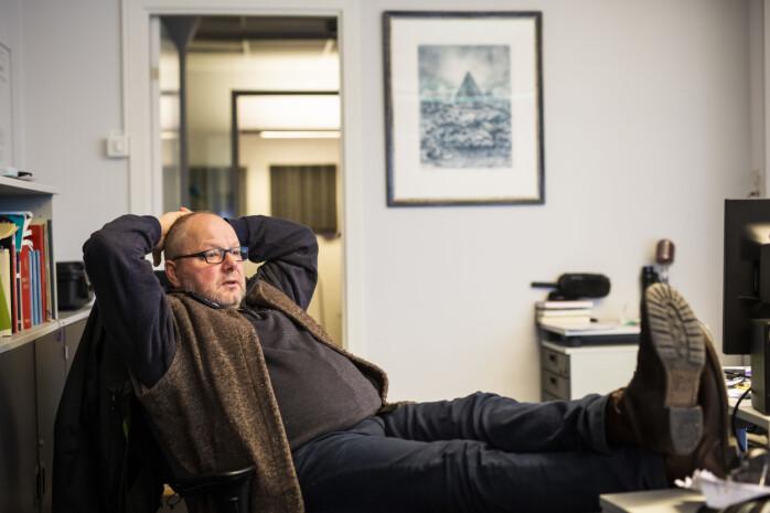 Nils Mehren har vært journalist på NRKs Harstad-kontor siden 1991.