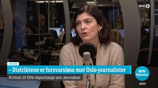 DN-reportasjen ga Kjersti Løken Stavrum magebesvær.
