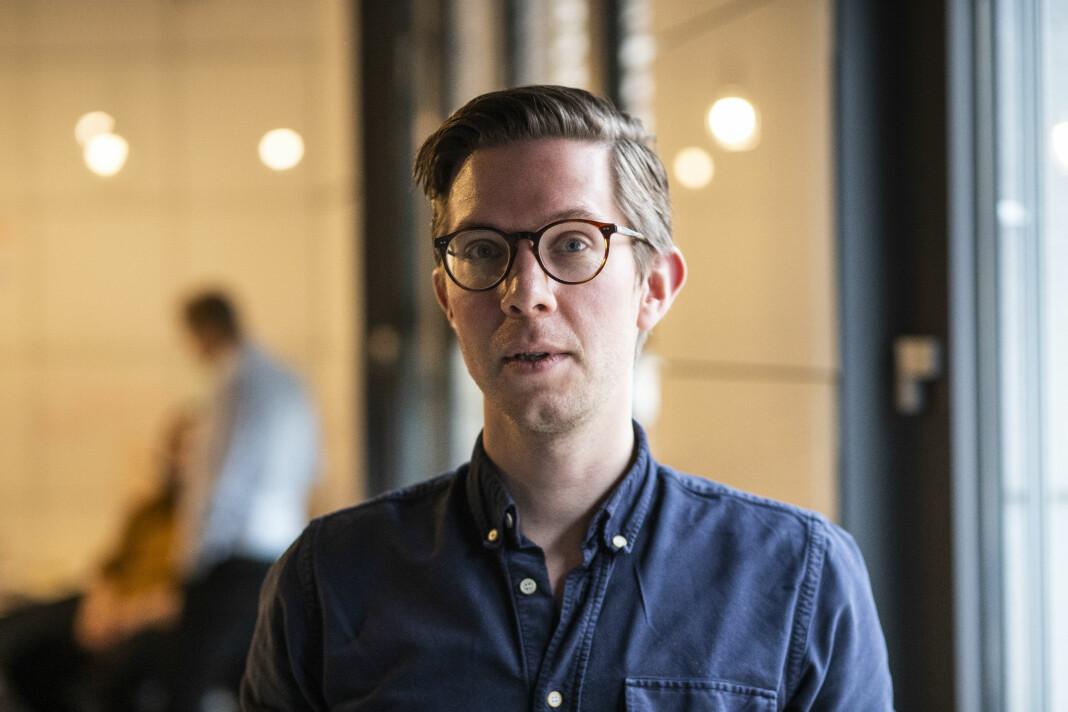 Morten Langfeldt Dahlback, faktasjekker i Faktisk.no, publiserer innlegg på sosiale medier om hvordan man ikke skal lage grafer.