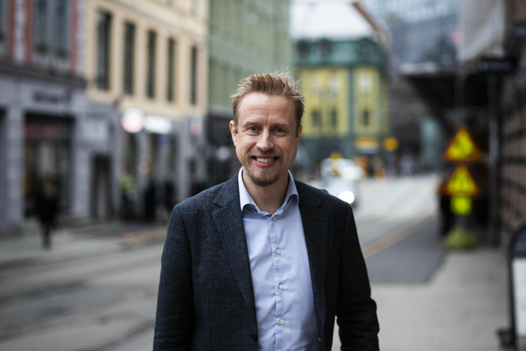 Ansvarlig redaktør Kristoffer Egeberg i Faktisk.no overtok ansvaret for Innsyn.no på tampen av fjoråret.