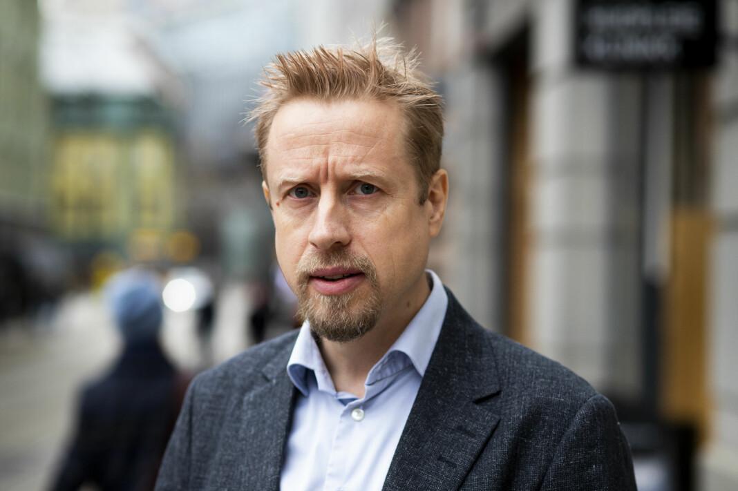 Kristoffer Egeberg, redaktør i Faktisk.no, er lei seg for at Global Fact-konferansen må avlyses