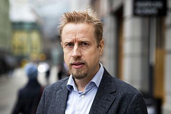 Kristoffer Egeberg, redaktør i Faktisk.no